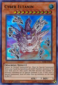 YuGiOh! TCG karta: Cyber Eltanin