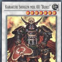 "CT10-EN009 Super Rare Limited Edition Yugioh Karakuri Shogun MDL 00 ""Burei"""