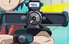 The Shuttercam Disk (Duel Disk mode; front)