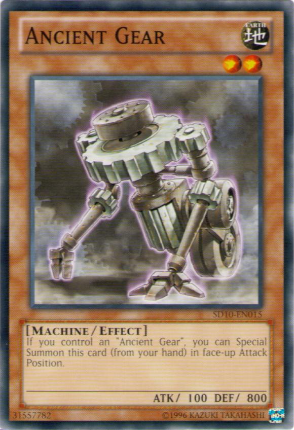 Ancient Gear (card) | Yu-Gi-Oh! | FANDOM powered by Wikia
