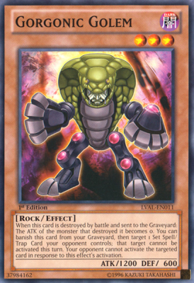 Gorgonic Golem LVAL