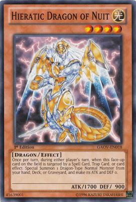 Hieratic Dragon of Nuit GAOV