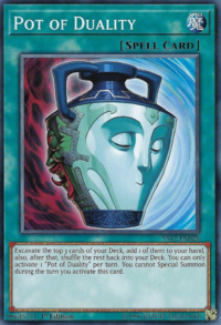 YuGiOh! TCG karta: Pot of Duality