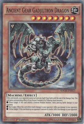 Ancient Gear Gadjiltron Dragon SDGR