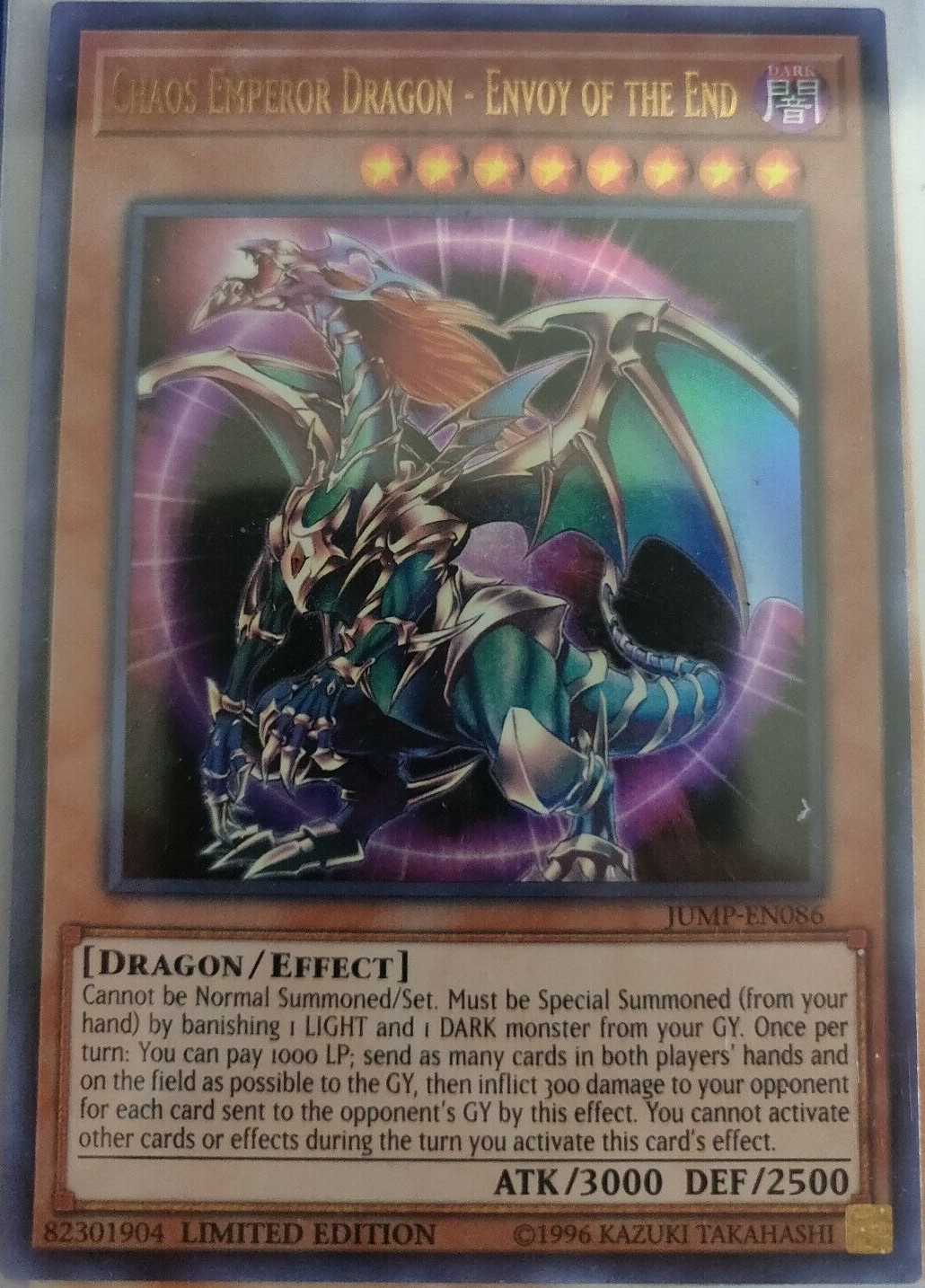 Chaos Emperor Dragon Envoy Of The End Yu Gi Oh Fandom