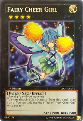 Fairy Cheer Girl LTGY