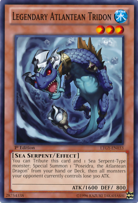 Legendary Atlantean Tridon LTGY