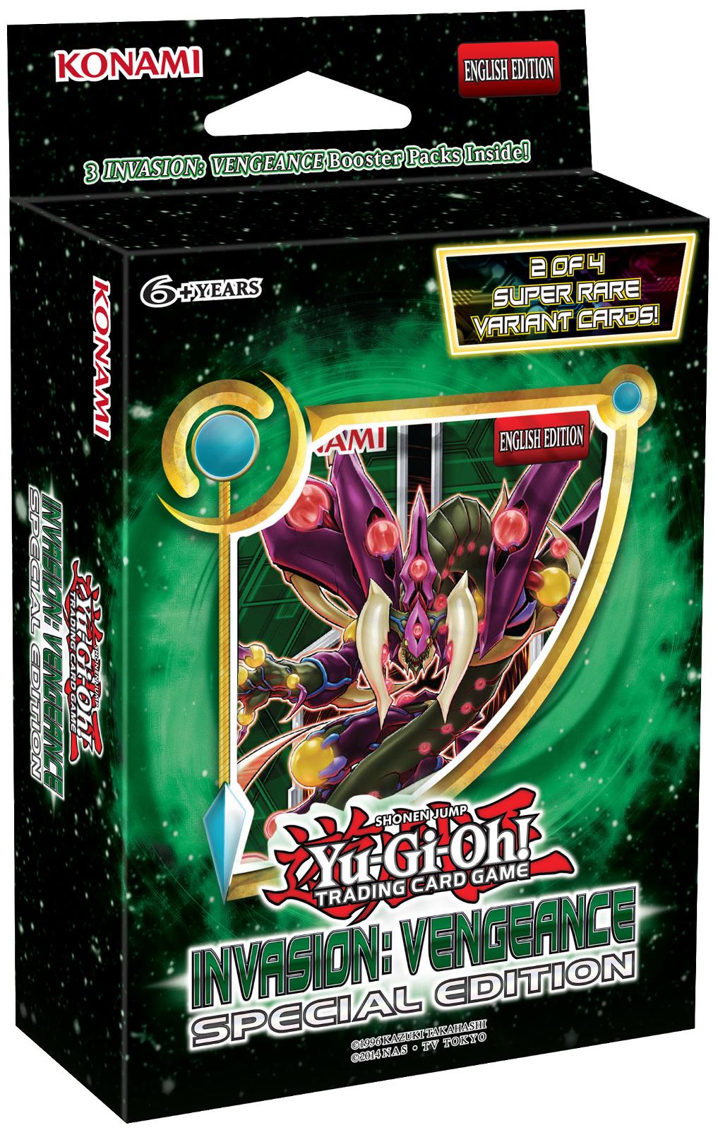 Konami YuGiOh Six Super Rare Promo 3 Pack Samurai Assault Special Edition Box