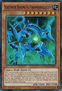 YuGiOh! TCG karta: Subterror Behemoth Phospheroglacier