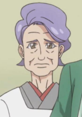 Takeru's grandmother