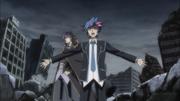 Yusaku protects Ai
