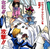 Yugi Mutou and Katsuya Jonouchi's hospital Duels