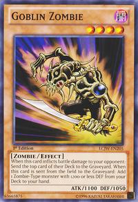 YuGiOh! TCG karta: Goblin Zombie