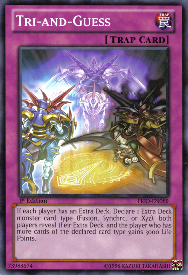 Tri-and-Guess | Yu-Gi-Oh! | FANDOM powered by Wikia