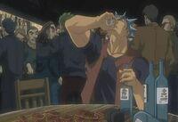Himuro's alcoholism