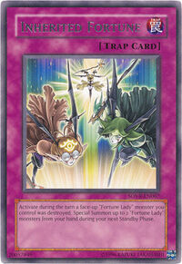 YuGiOh! TCG karta: Inherited Fortune