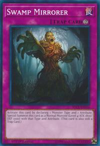 YuGiOh! TCG karta: Swamp Mirrorer