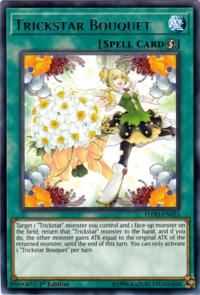 YuGiOh! TCG karta: Trickstar Bouquet