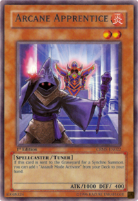 YuGiOh! TCG karta: Arcane Apprentice
