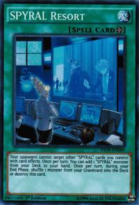 YuGiOh! TCG karta: SPYRAL Resort