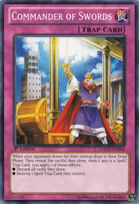 Commander of Swords GAOV