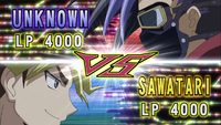 Unknown VS Sawatari