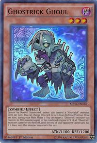YuGiOh! TCG karta: Ghostrick Ghoul