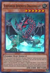 YuGiOh! TCG karta: Subterror Behemoth Dragossuary