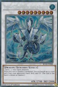 YuGiOh! TCG karta: Trishula, Dragon of the Ice Barrier