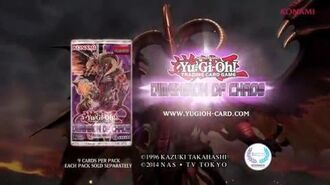 Yugioh Konami Commercial Dimension Of Chaos TCG