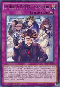 YuGiOh! TCG karta: SPYRAL MISSION - Recapture