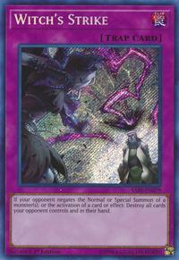 YuGiOh! TCG karta: Witchs Strike