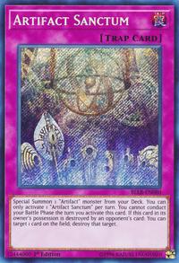 YuGiOh! TCG karta: Artifact Sanctum