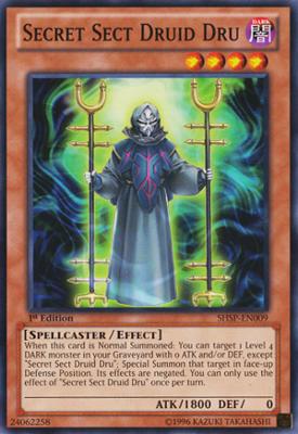 Secret Sect Druid Dru SHSP