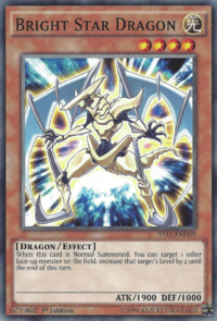 YuGiOh! TCG karta: Bright Star Dragon