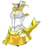 Female Ra Yellow uniform