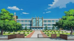 Miami School Front