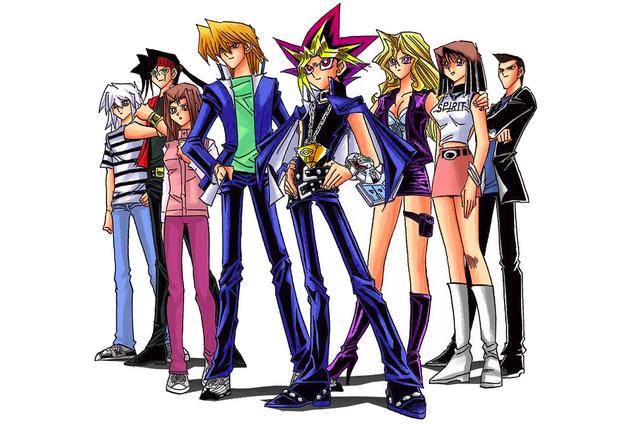 File:Yu-Gi-Oh! manga characters - Battle City.png
