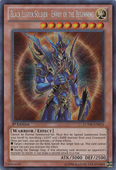 Black Luster Soldier Envoy of the Beginning LCYW