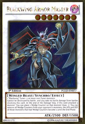 Blackwing Armor Master PGLD