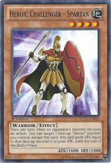 Heroic Challenger Spartan REDU