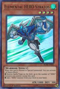 YuGiOh! TCG karta: Elemental HERO Stratos