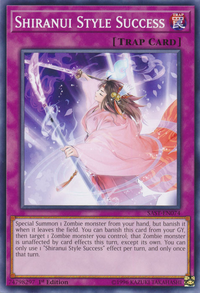 YuGiOh! TCG karta: Shiranui Style Success