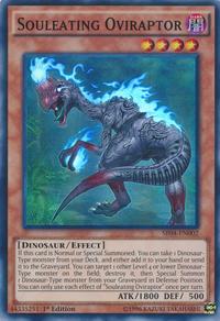 YuGiOh! TCG karta: Souleating Oviraptor