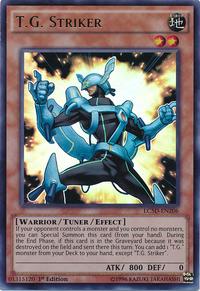 YuGiOh! TCG karta: T.G. Striker