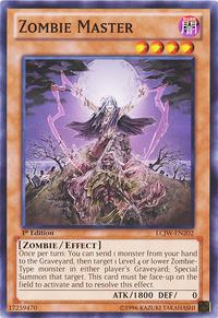 YuGiOh! TCG karta: Zombie Master