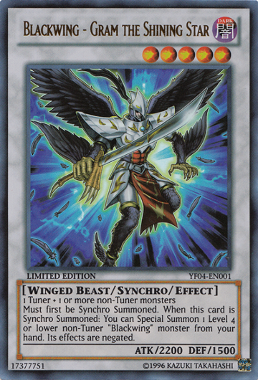 Blackwing Gram the Shining Star YF04