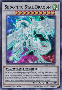 YuGiOh! TCG karta: Shooting Star Dragon