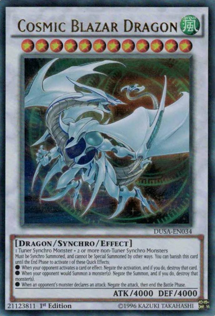 Cosmic Blazar Dragon