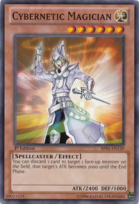 YuGiOh! TCG karta: Cybernetic Magician